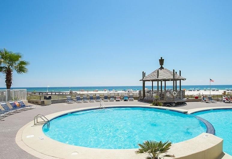 Top-floor Gulf-front Condo With Pools & Hot Tub - 3 Bedroom Condo, Pantai Orange , Condo, 3 Bedrooms, Kolam