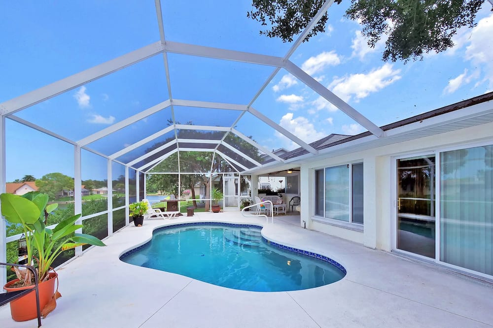 Huis (Palm Paradise) - Zwembad