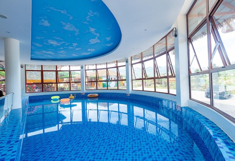 Moc Chau Eco Garden Resort, Moc Chau, Alberca cubierta