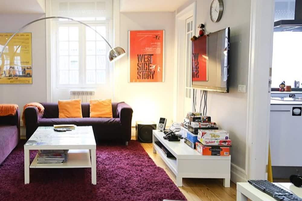 Zajednička spavaonica, mješovita spavaonica, pogled na grad (1 bed in 4-bed dorm) - Dnevna soba
