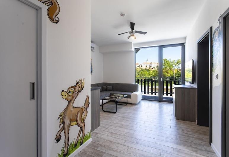 Motel Eldorado, Mikulov, Cartoon Apartment (15), Living Room