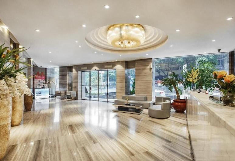 Ehwest Hotel Chongqing, Chongqing, Sitzecke in der Lobby