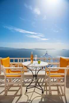 Image de Sole d'oro Villa with Panoramic View to Sunset and Caldera à Santorin