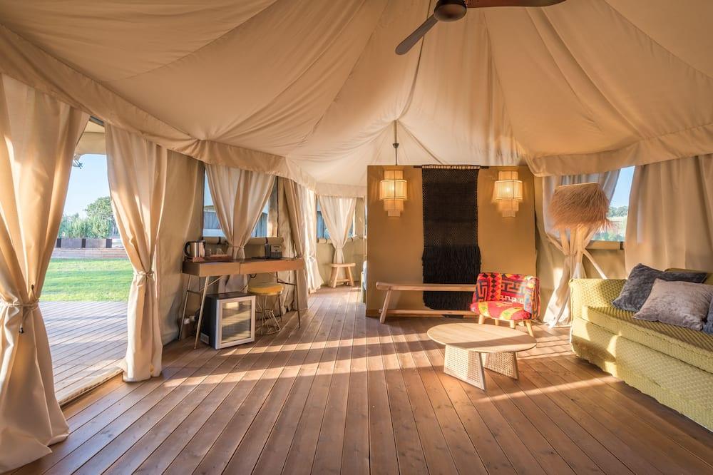 Deluxe Tent - Living Area