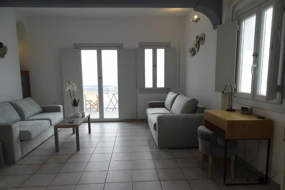 Romantisches Haus - Wohnzimmer
