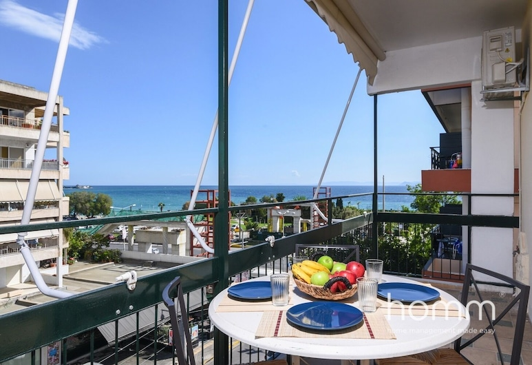 90m² homm Sea View Apartment in Alimos, 阿利莫斯
