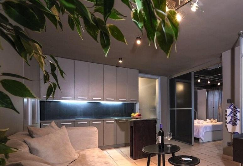 Modern 45m² homm Apartment in Vitonos str, Gazi, Atény