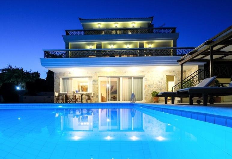 Sublime Luxurious homm Villa in Paiania, Agios Nikolaos, Bagian luar