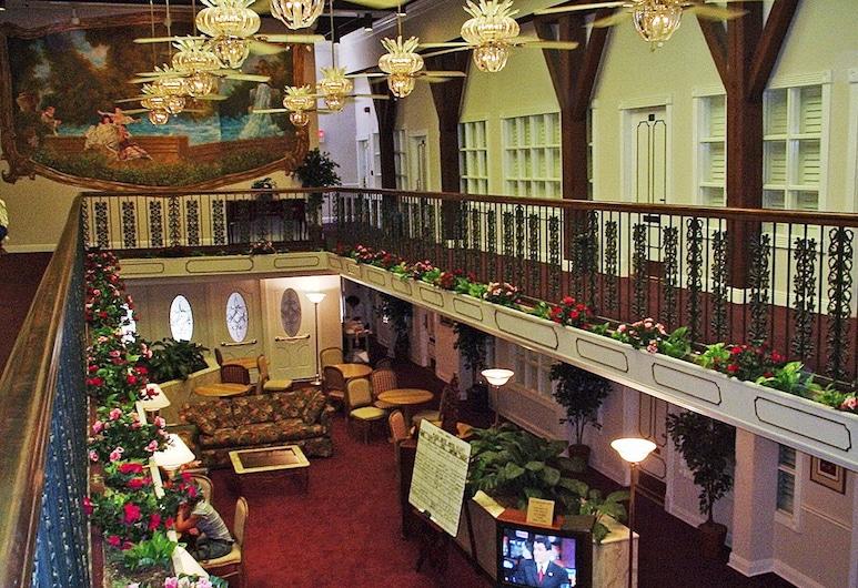 Plaza Suite Hotel, Новый Орлеан, Вестибюль