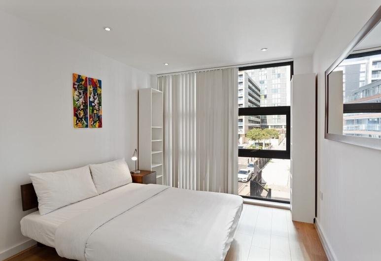 2 Bed W/private Balcony 10 min to Canary Wharf Stn, Londonas, Išorė