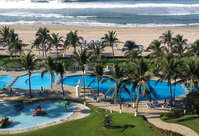 Beach Apartment Mayan Torre I, Acapulco, Medence
