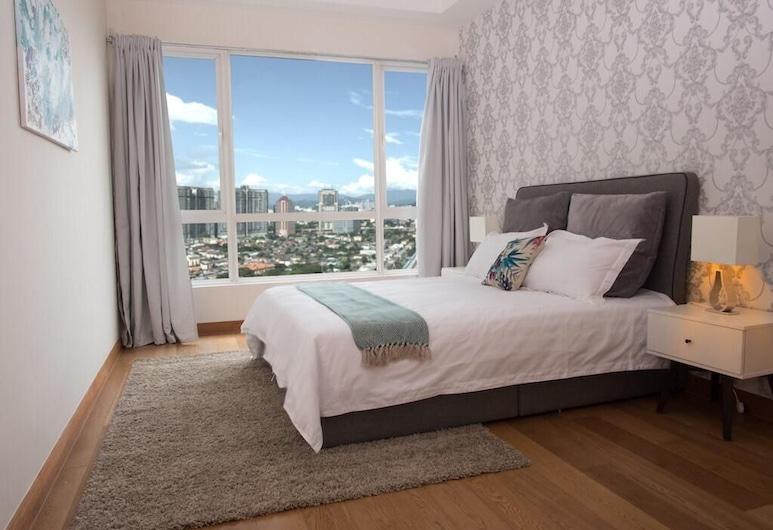 Crest Luxury Apartment - 3 Beds - 5min Twin Towers, Kuala Lumpur, Bilik