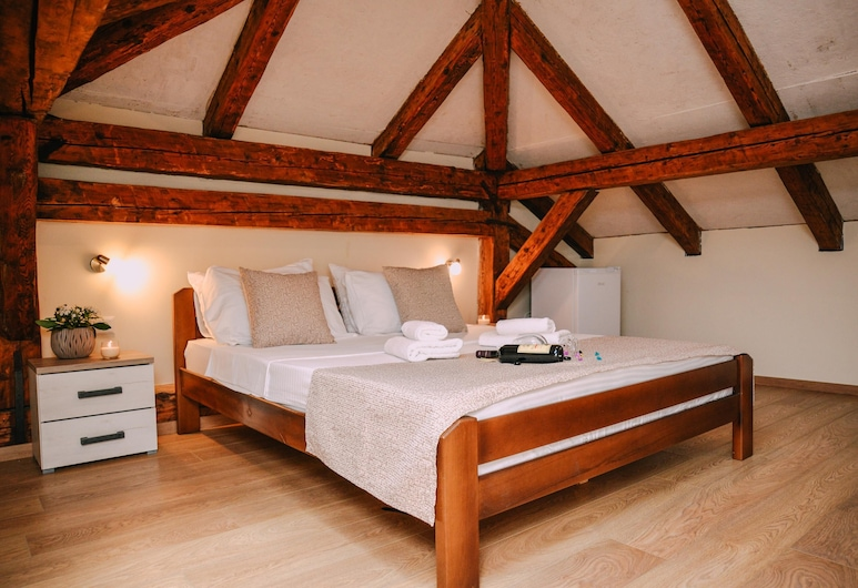 Guesthouse Step, Kotor, Dobbeltrom – standard, 1 soverom, utsikt mot sjø, Gjesterom