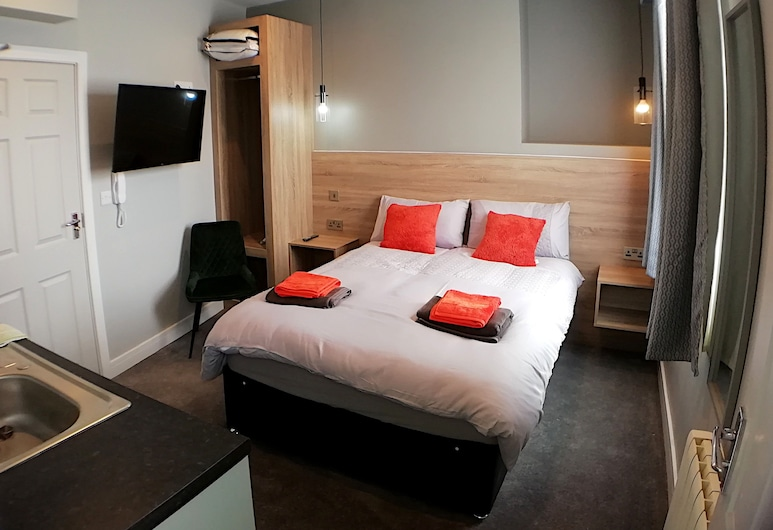 City Space, Doncaster, Deluxe Double Room, Room