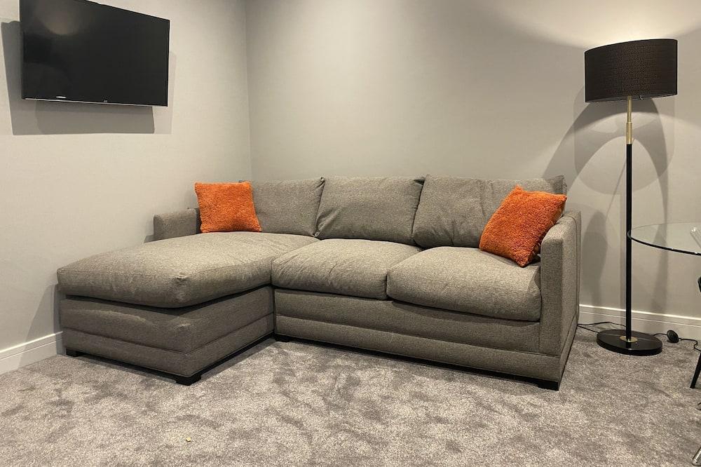 Deluxe-værelse til 4 personer - 2 soveværelser - ikke-ryger - Stue