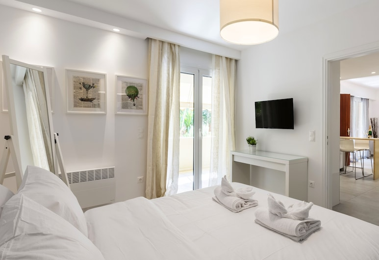 Radiant homm Vouliagmeni Apartment 4ppl, 瓦里武拉武利亞格邁尼, 公寓, 1 間臥室, 客房