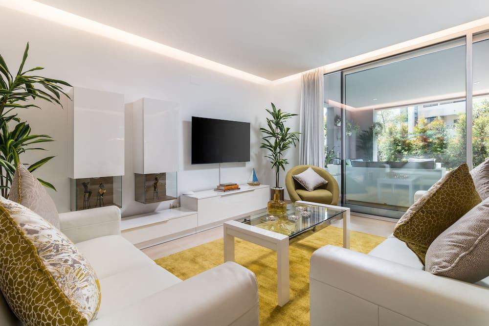 Apartmán, 3 spálne (I) - Obývacie priestory