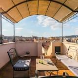 單棟房屋, 多張床 (Saint Peter's Luxury Terrace Attic) - 露台