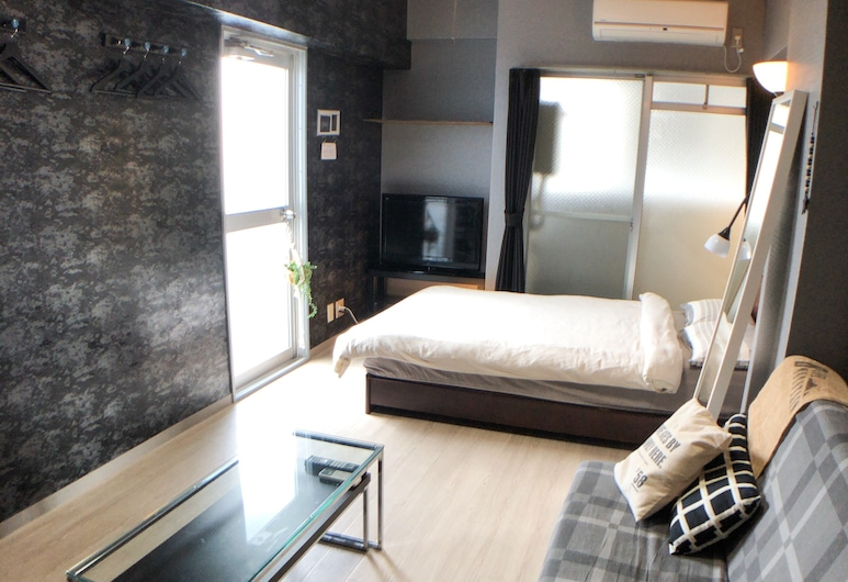 Guest House Matsu Bekkan, Osaka, Íbúð (208), Herbergi