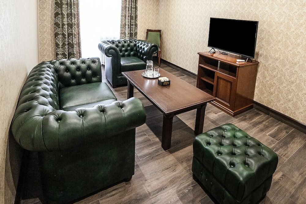 奢華套房, 1 間臥室, 公園景 (3 rooms) - 客廳