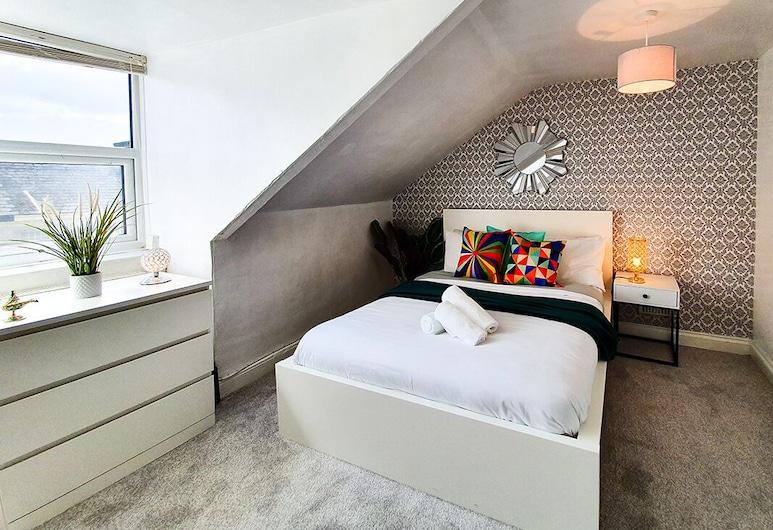 Plymouth, Devon City Centre Oasis - Your Riad, Plymouth, Departamento, 1 cama Queen size con sofá cama, Habitación