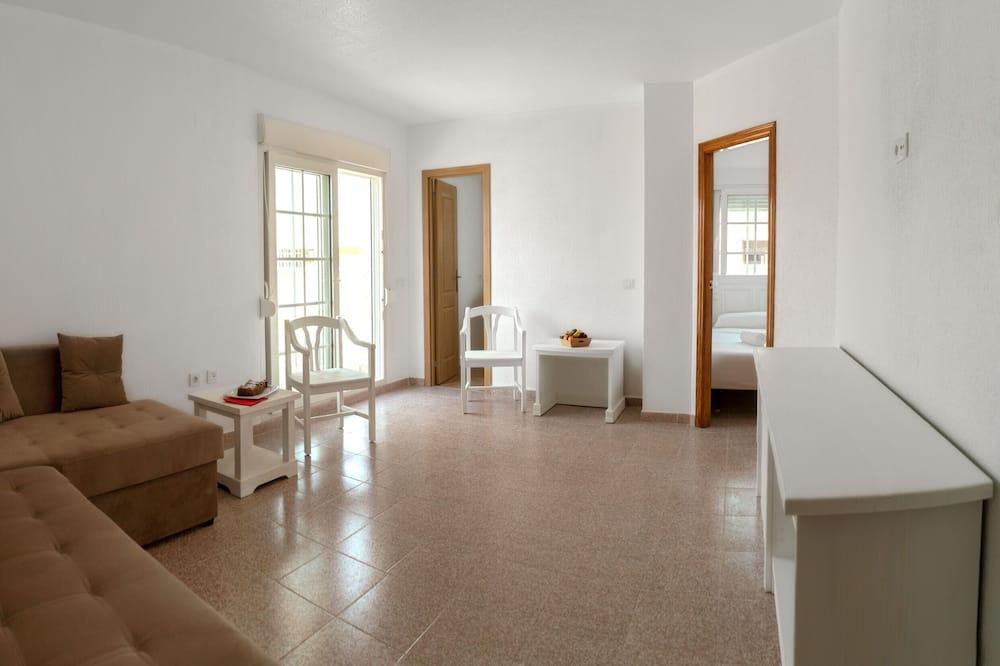Family Room, 2 Bedrooms, Balcony - Living Room