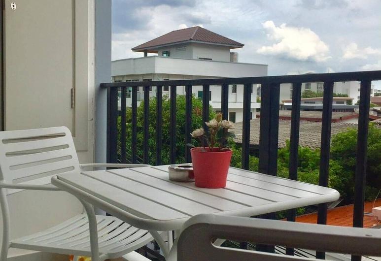Pearl Place Serviced Apartment Bangkok, Bankokas, Standartinio tipo studija, Rūkantiesiems, Terasa / vidinis kiemas