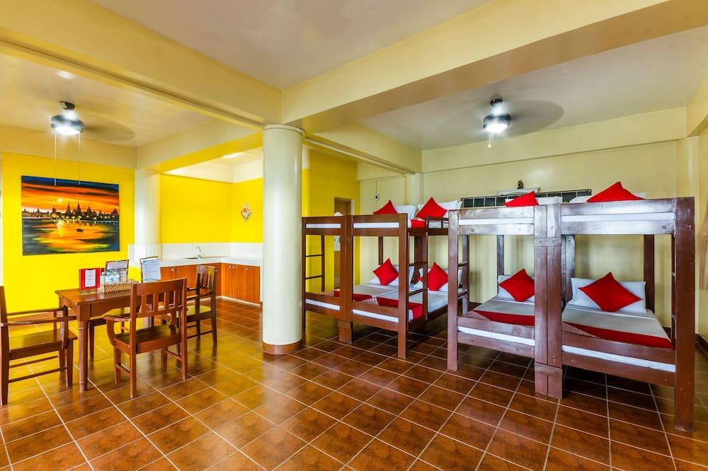 Delad sovsal - Standard (Bunk 8 Bed) - Vardagsrum