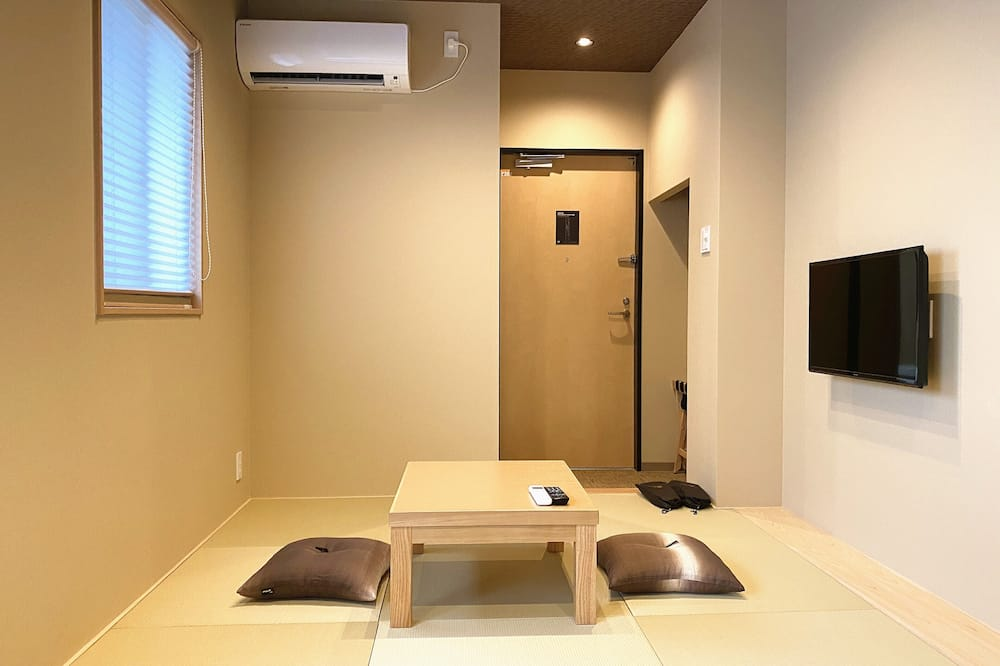 Economy Δίκλινο Δωμάτιο (Twin) (Tatami) - Περιοχή καθιστικού