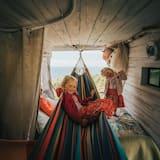 Ferienhütte, 1 Queen-Bett - Zimmer