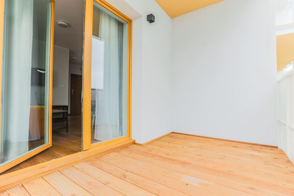 Apartament tradycyjny, 1 sypialnia (Yellow) - Balkon