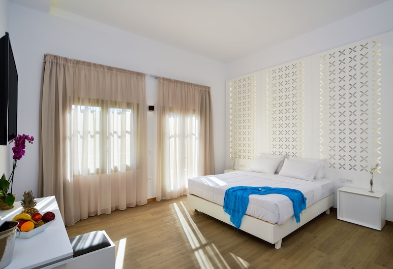 Elia Portou Luxury Residence, Chania, Superior-íbúð, Herbergi