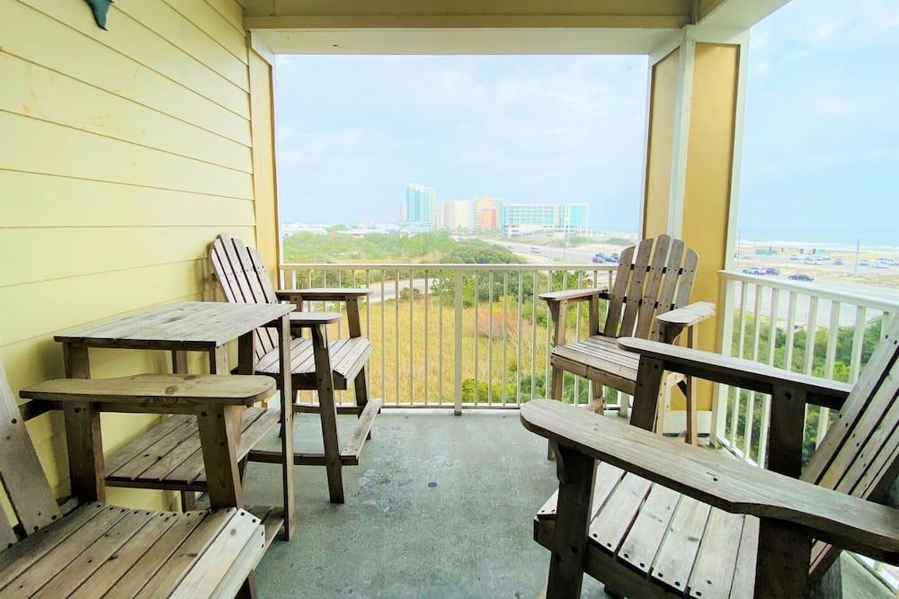 Condo, 2 Bedrooms, Balcony, Beachfront (1.5 Bathrooms - 419) - Balkoni
