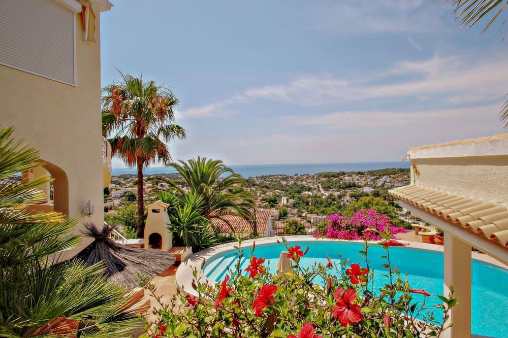 Villa, 2 habitaciones, piscina privada - Vista a la playa o el mar