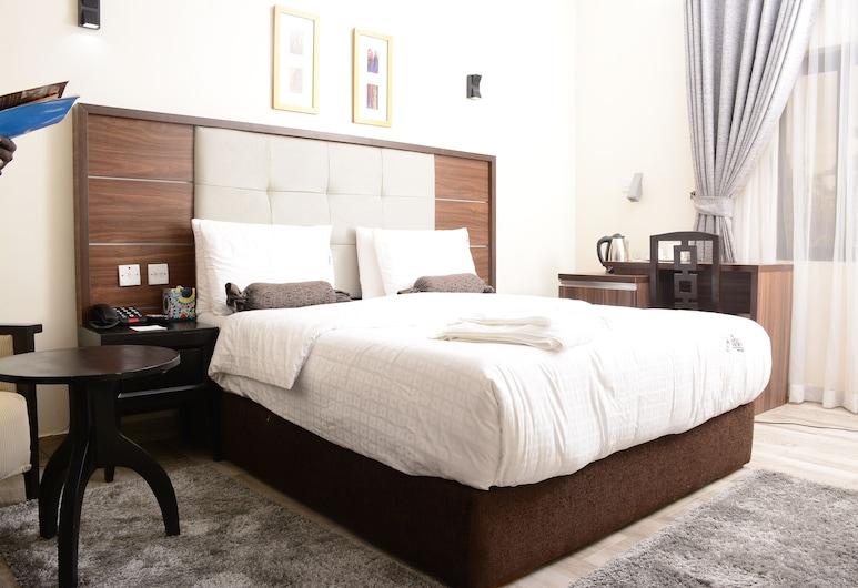 The Hardley Apartment, Lagos, Deluxe szoba kétszemélyes ággyal egy fő részére, Vendégszoba