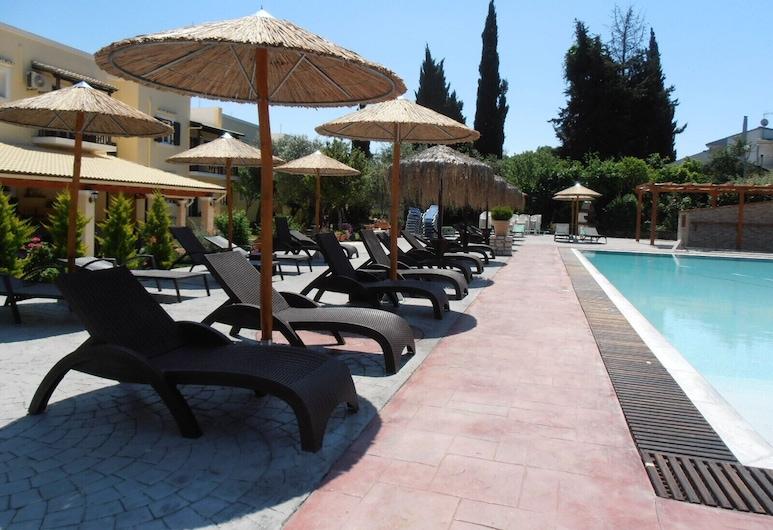 Frosini Gardens, Korfu, Außenpool