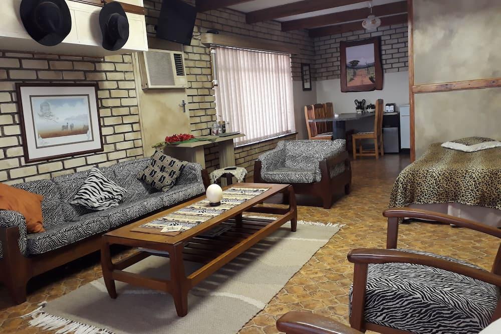 Suite Familiale, 2 chambres (The Zebra) - Coin séjour