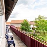 חדר סופריור לארבעה, חדר רחצה פרטי (mit Balkon) - נוף מהמרפסת