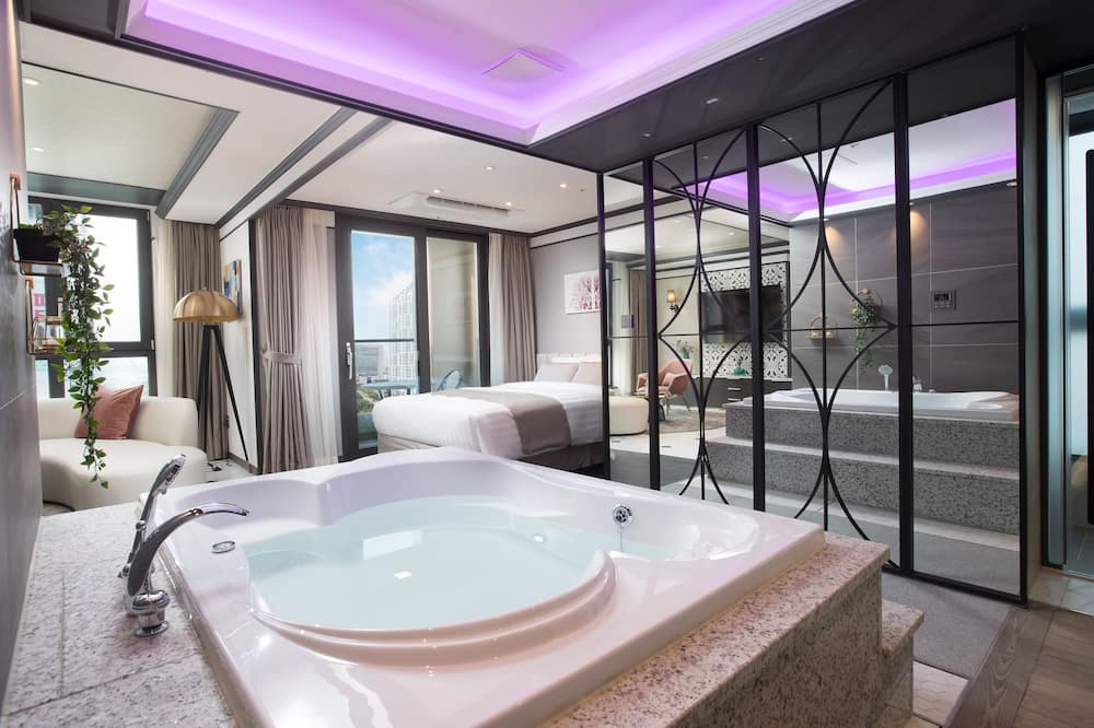 Suite Romance Room - Private spa tub