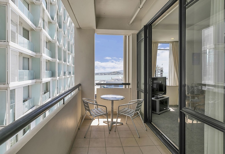 QV Auckland CBD Apartment with Parking and Free Wifi - 769, Auckland, Apartmán, Balkón