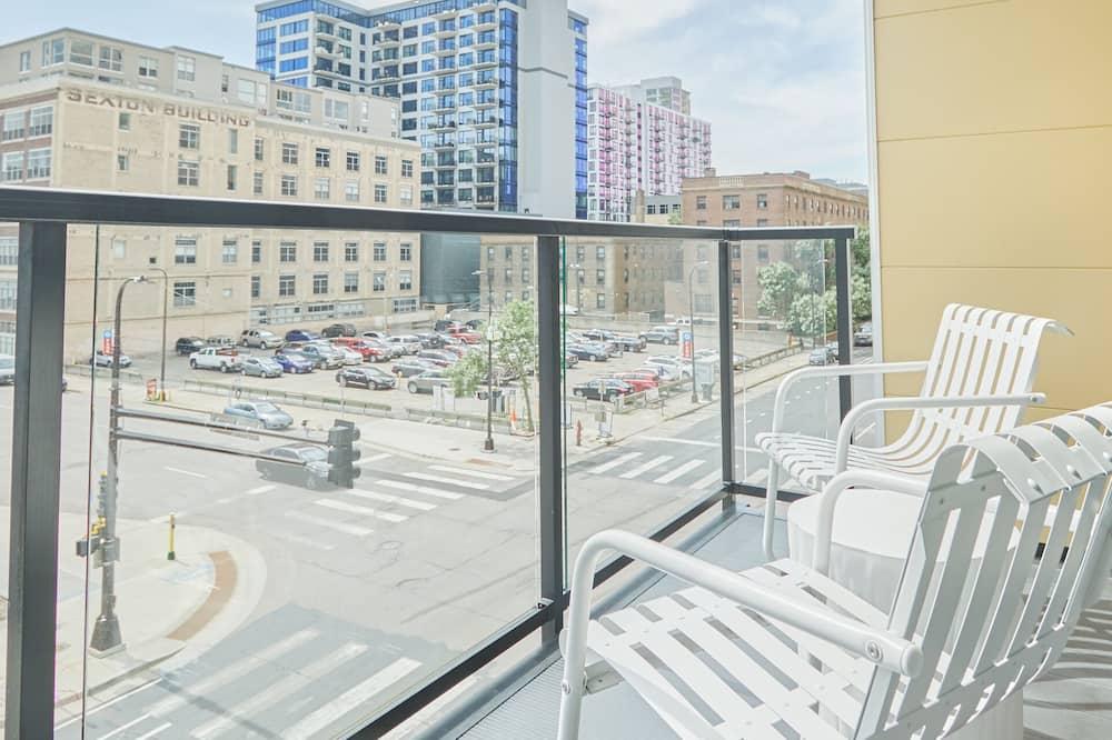 Apartmán typu City, 2 spálne - Balkón