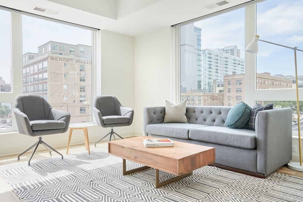 Apartmán typu City, 2 spálne - Obývačka