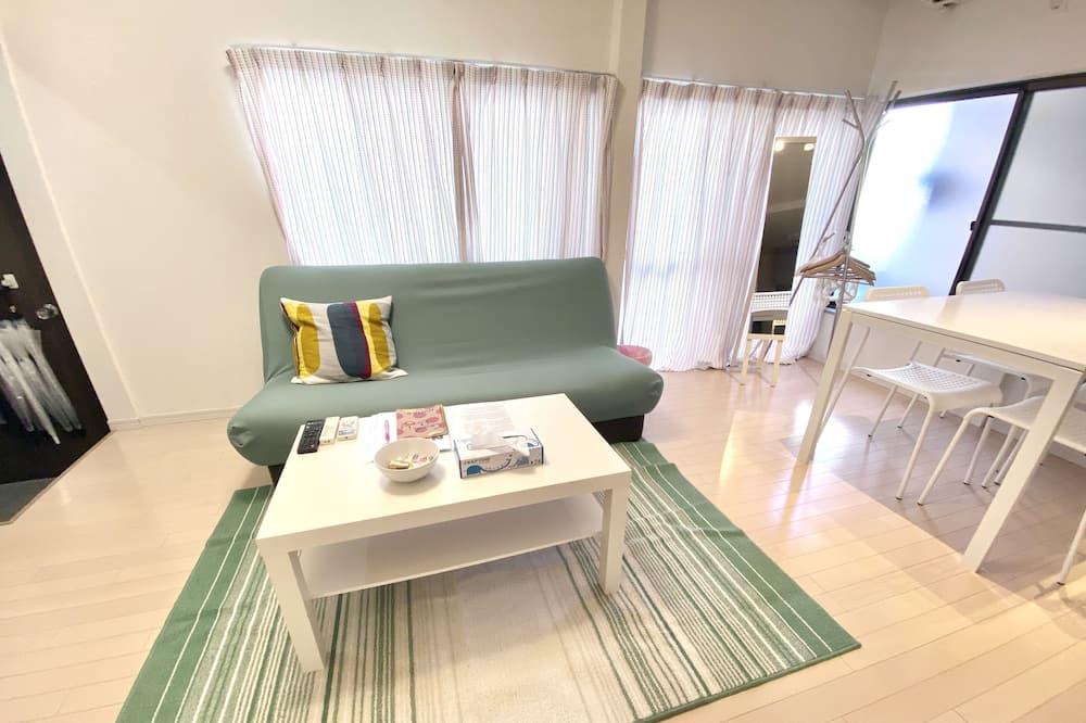 Ferienhaus (Private Vacation Home) - Wohnzimmer