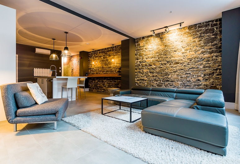 Les Lofts St-Joseph2 -By Lofts Vieux Qc, كويبك, الغرفة