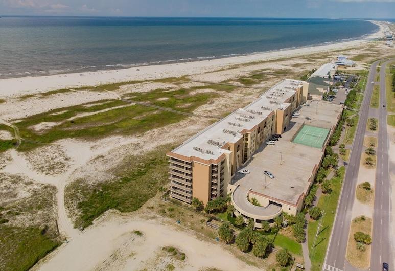 613 Holiday Isle 613 2 Bedroom Condo, 多芬岛, 公寓式客房, 2 间卧室, 海滩