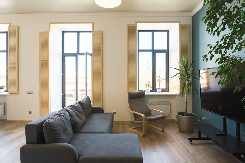 Apartament, 2 sypialnie, balkon - Powierzchnia mieszkalna