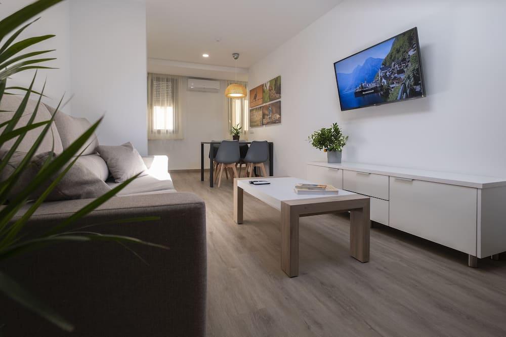 شقة - غرفة نوم واحدة (Suite) - غرفة معيشة