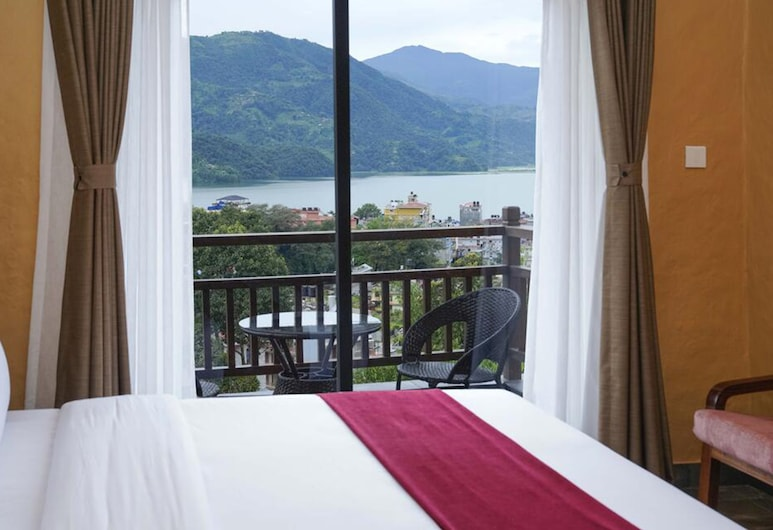 Bar Peepal Resort , Pokhara, Deluxe Room, Guest Room View