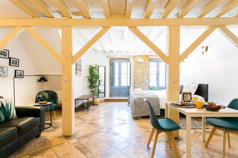 Studio (0 Bedroom) - Living Room