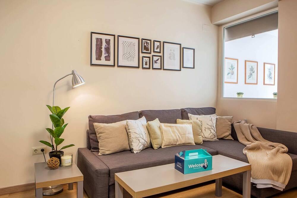アパートメント (2 Bedrooms) - リビング ルーム